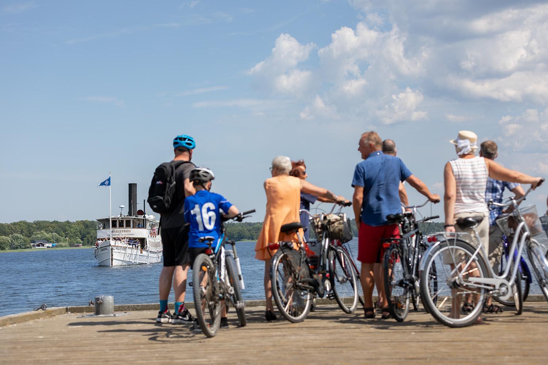 Upplev ett omväxlande cykeläventyr runt Mälaren