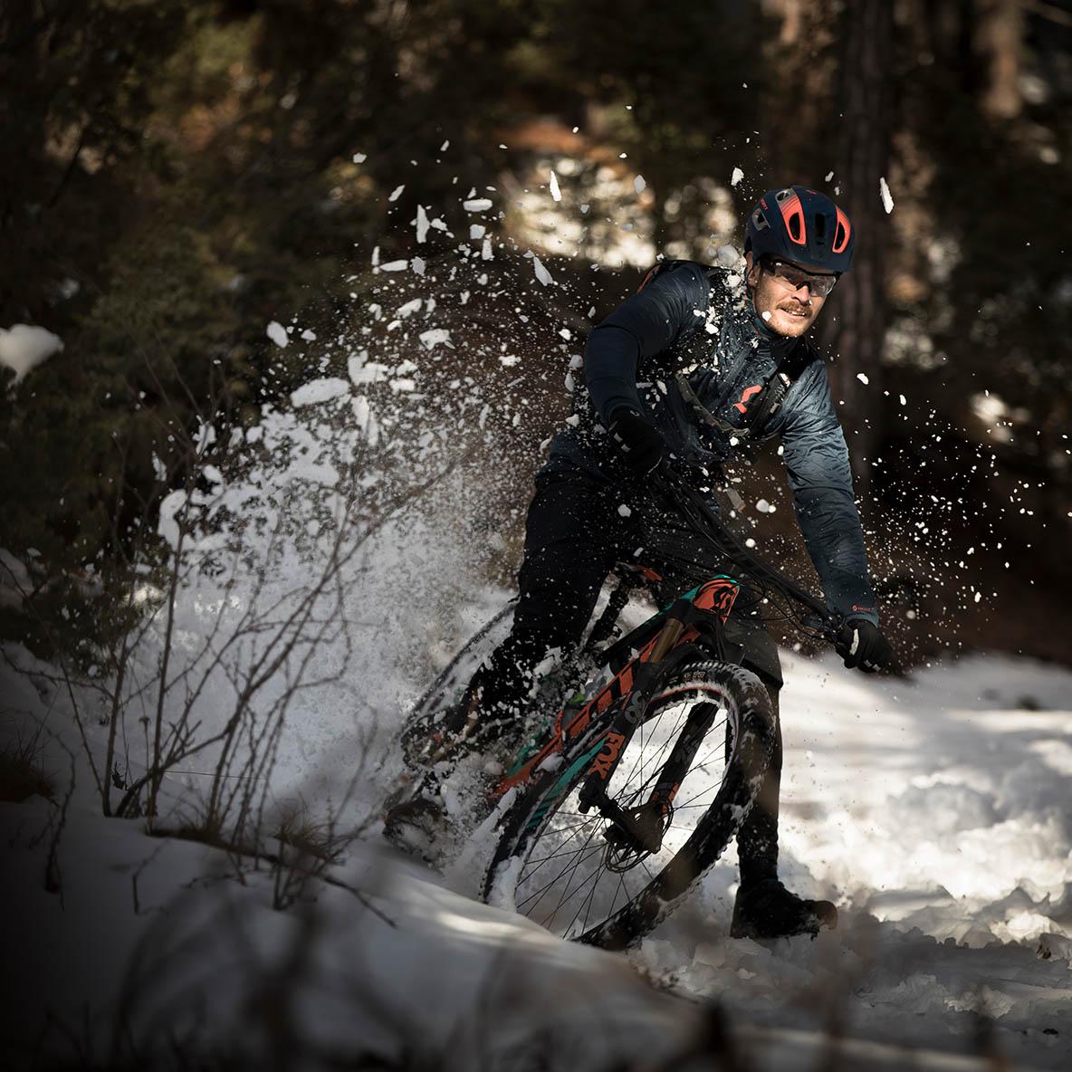 Förläng cykelsäsongen med vinterdäck